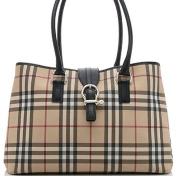 Burberry Handbags - Authentic Burberry Satchel (Med to Large)